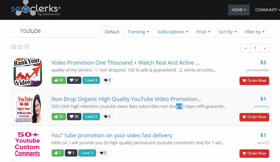 youtube流量